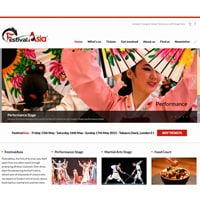 FestivalAsia website