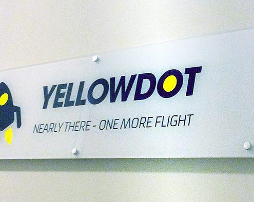 Yellowdot sign