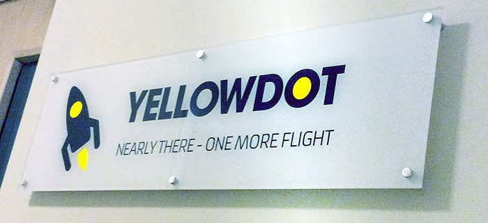 Yellowdot sign