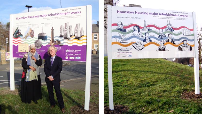 Hounslow Housing boards