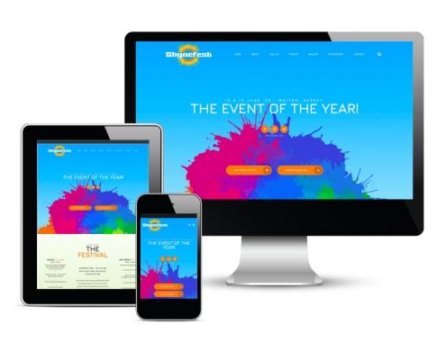 ShyneFest website